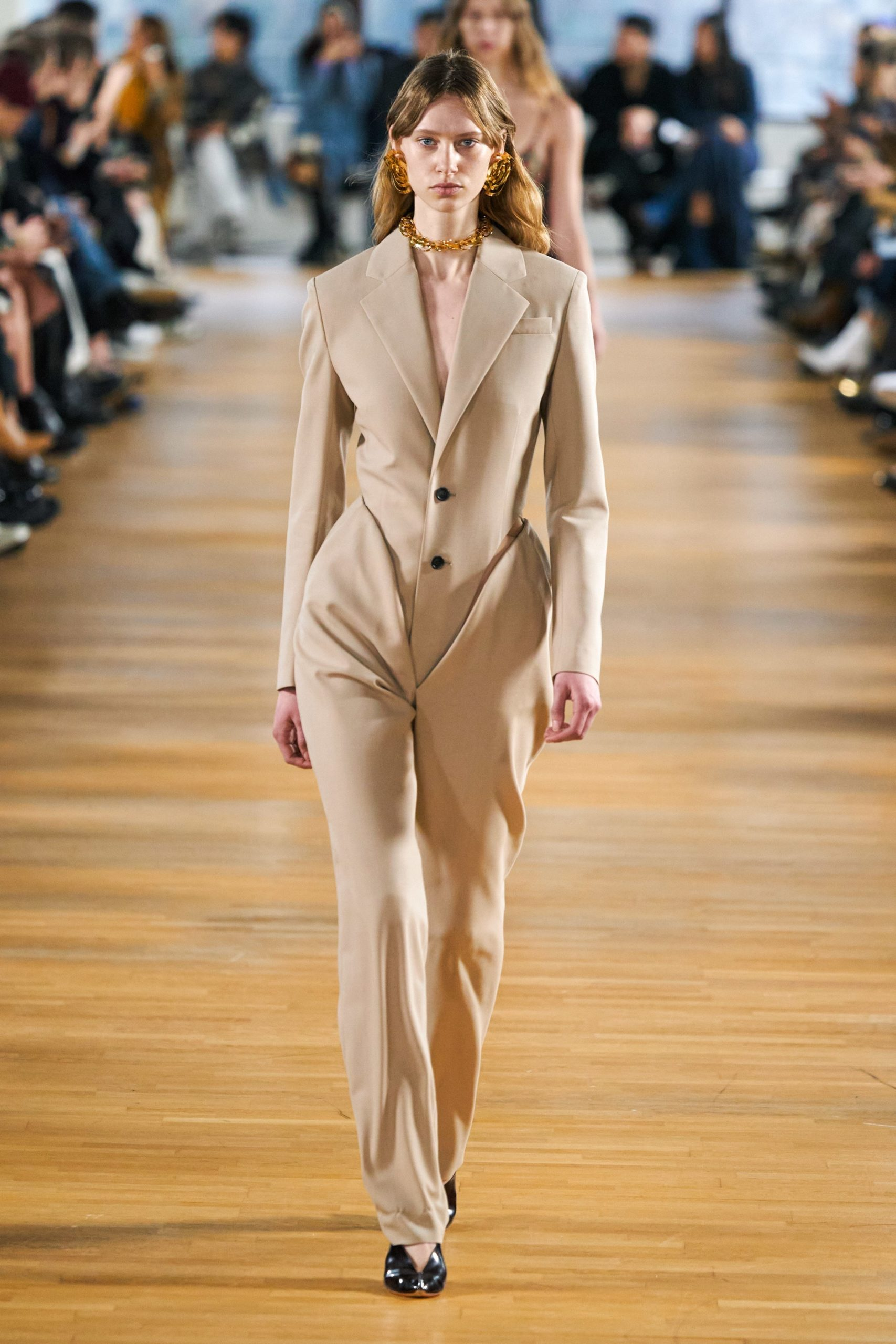 Y Project Fall 2020 trends runway coverage Ready To Wear Vogue beige monochrome