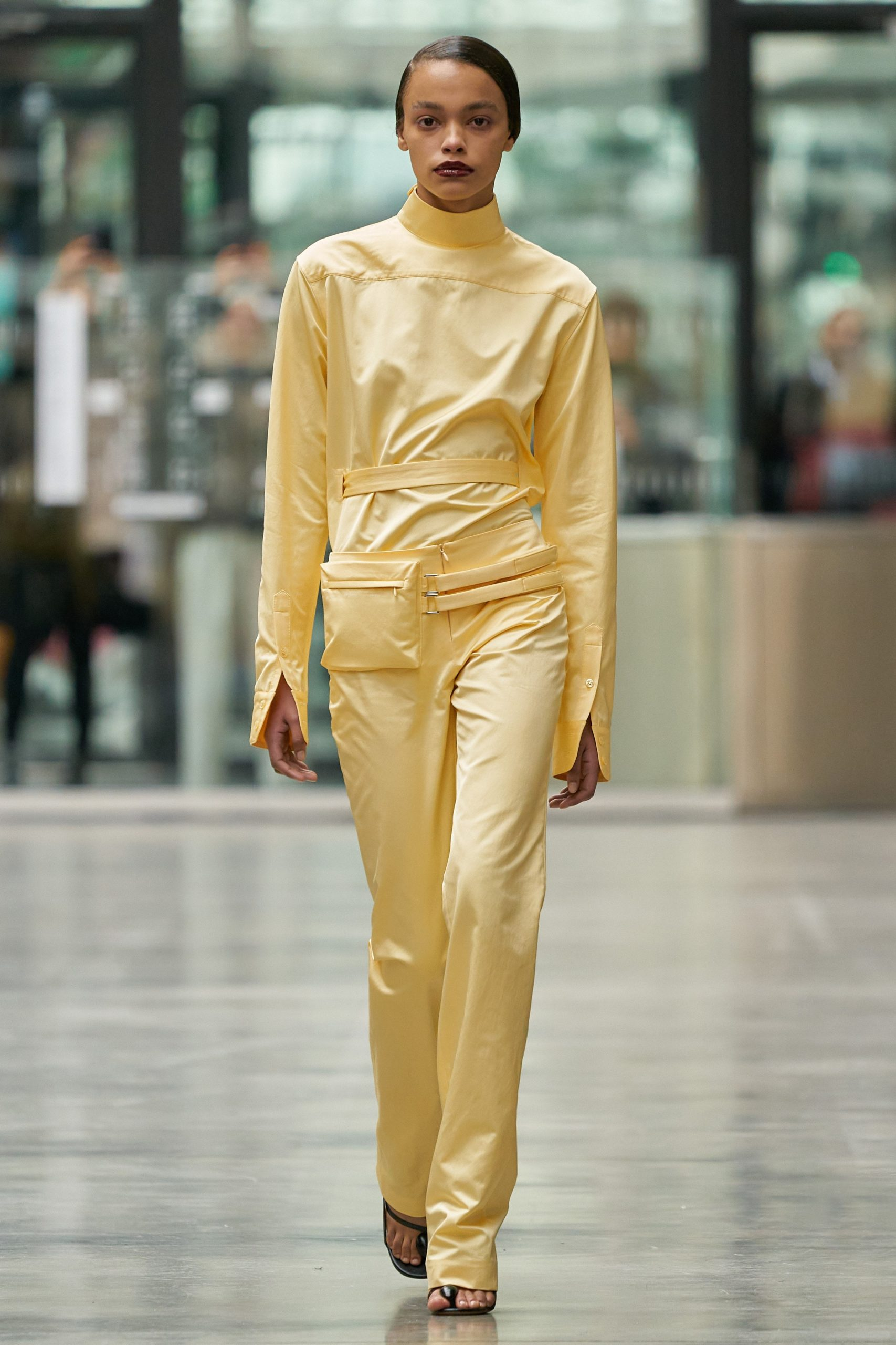 coperni-fall-20-RTW soft yellow monochrome