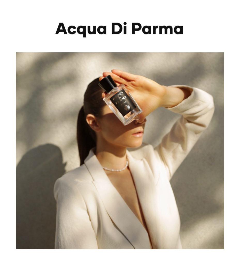 Acqua Di Parma digital campaign julia comil