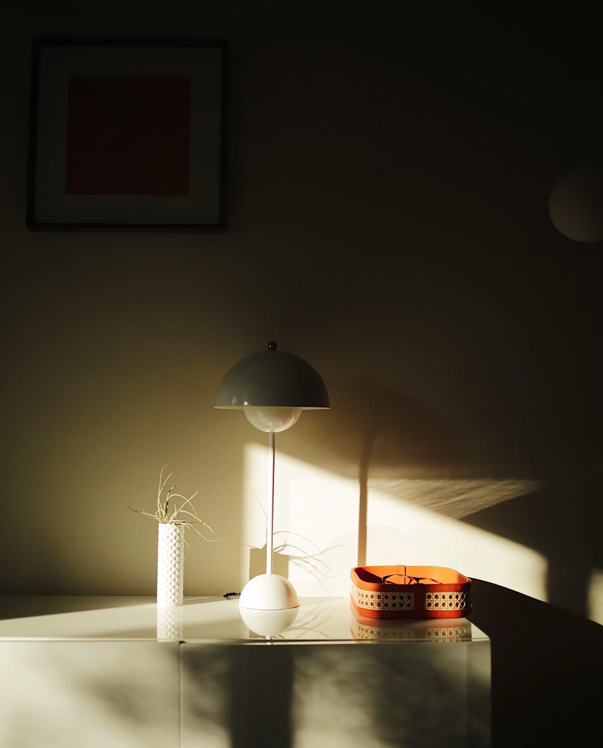 france & son flowerpot replica verner panton table lamp modern table lamp minimal table lamp mid-century table lamp