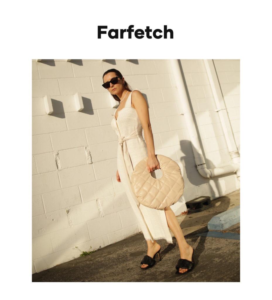 Farfetch digital campaign editorial julia comil
