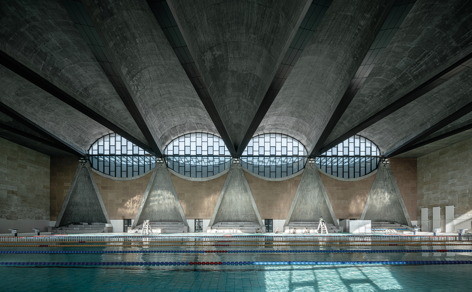 Swimming Pool of Tianjin University II lumas gallery review discount code coupon code