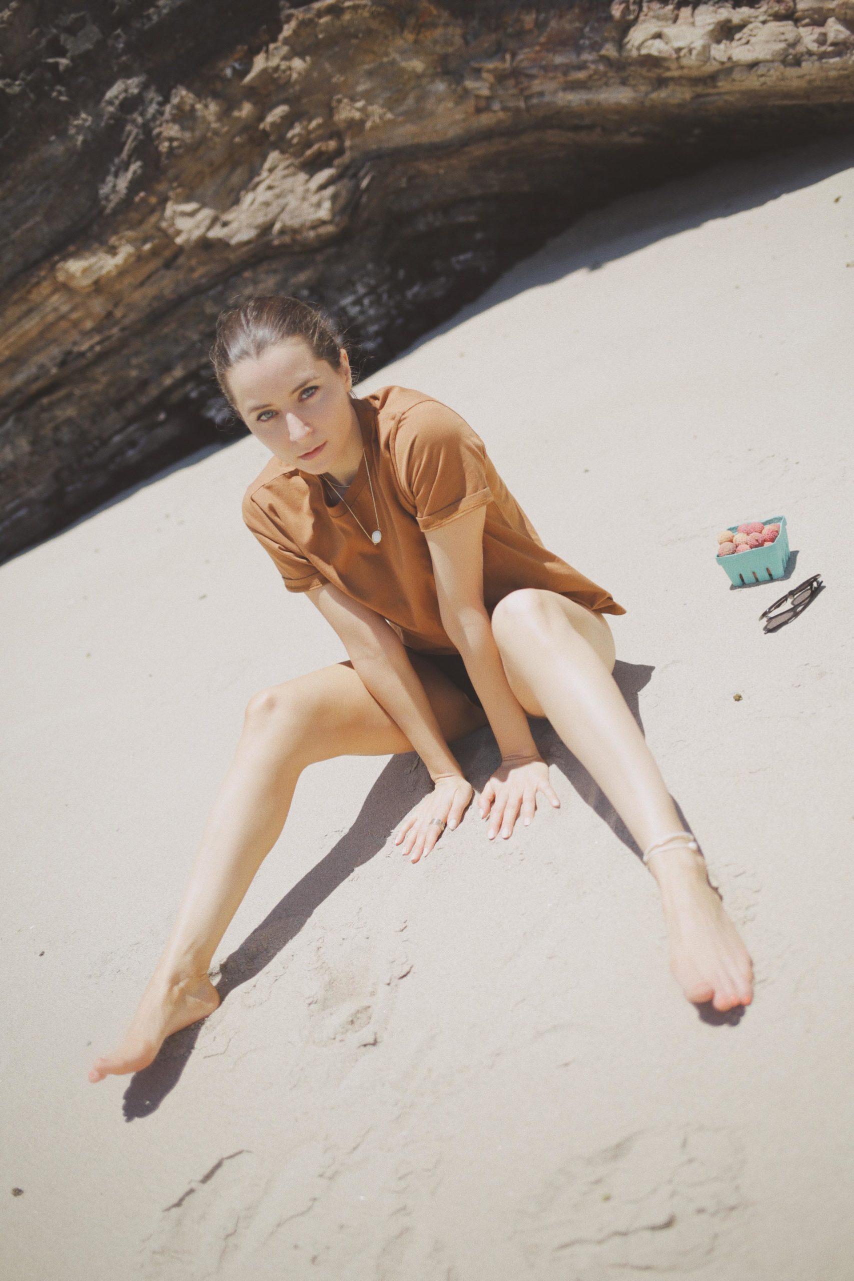 Summer style picnic sezane tee