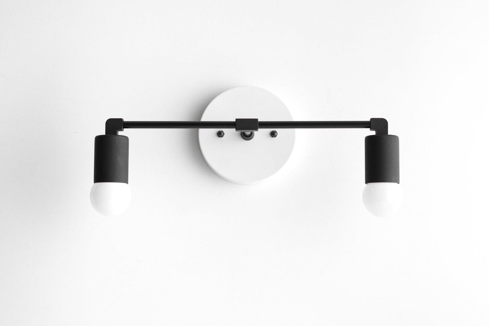 modcreation studio etsy modern bathroom lamp minimal bathroom lamp mid-century bathroom lamp