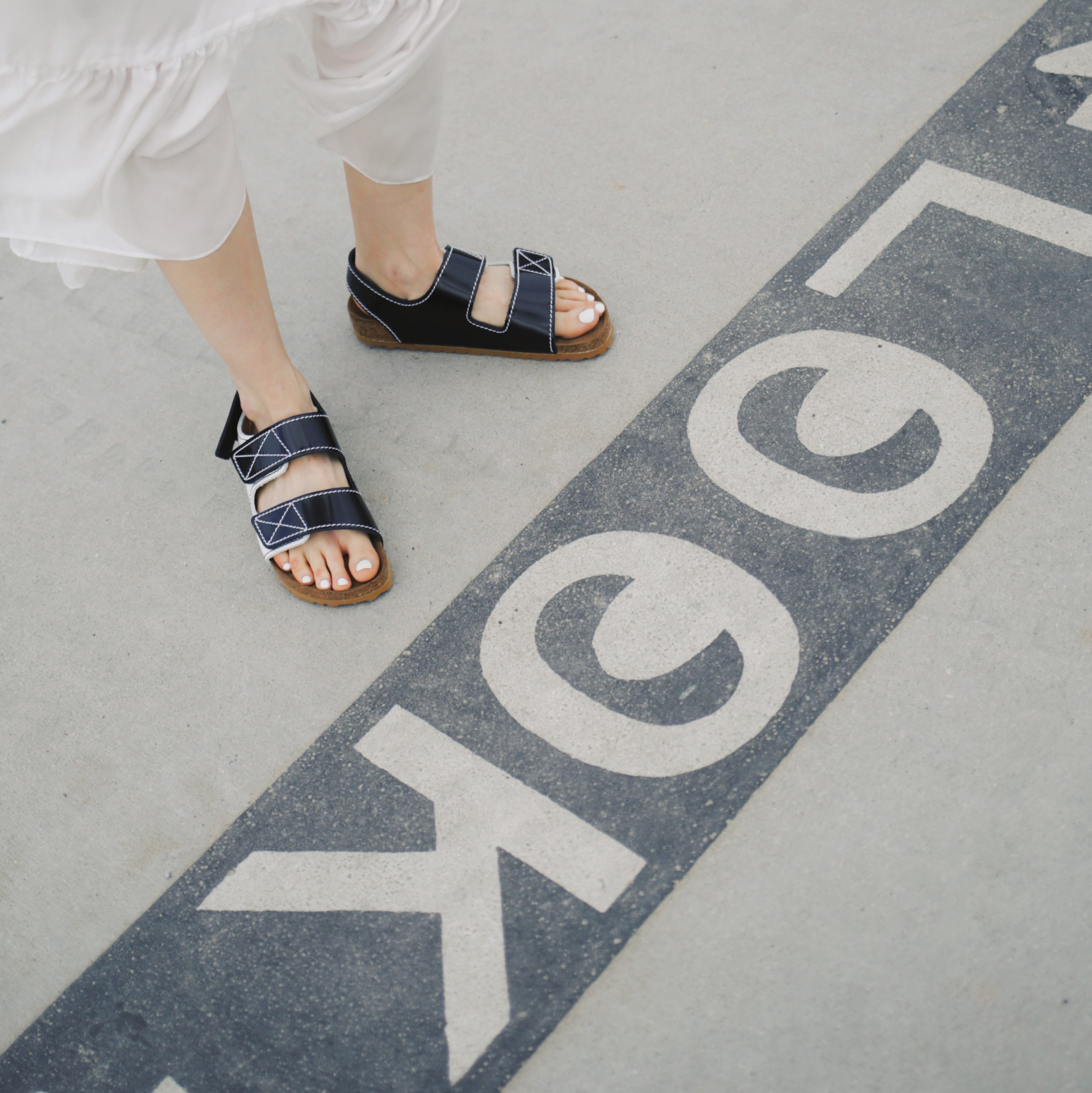 Best Fall Winter 2020 shoes and boots trends: comfortable slides proenza schouler birkenstock