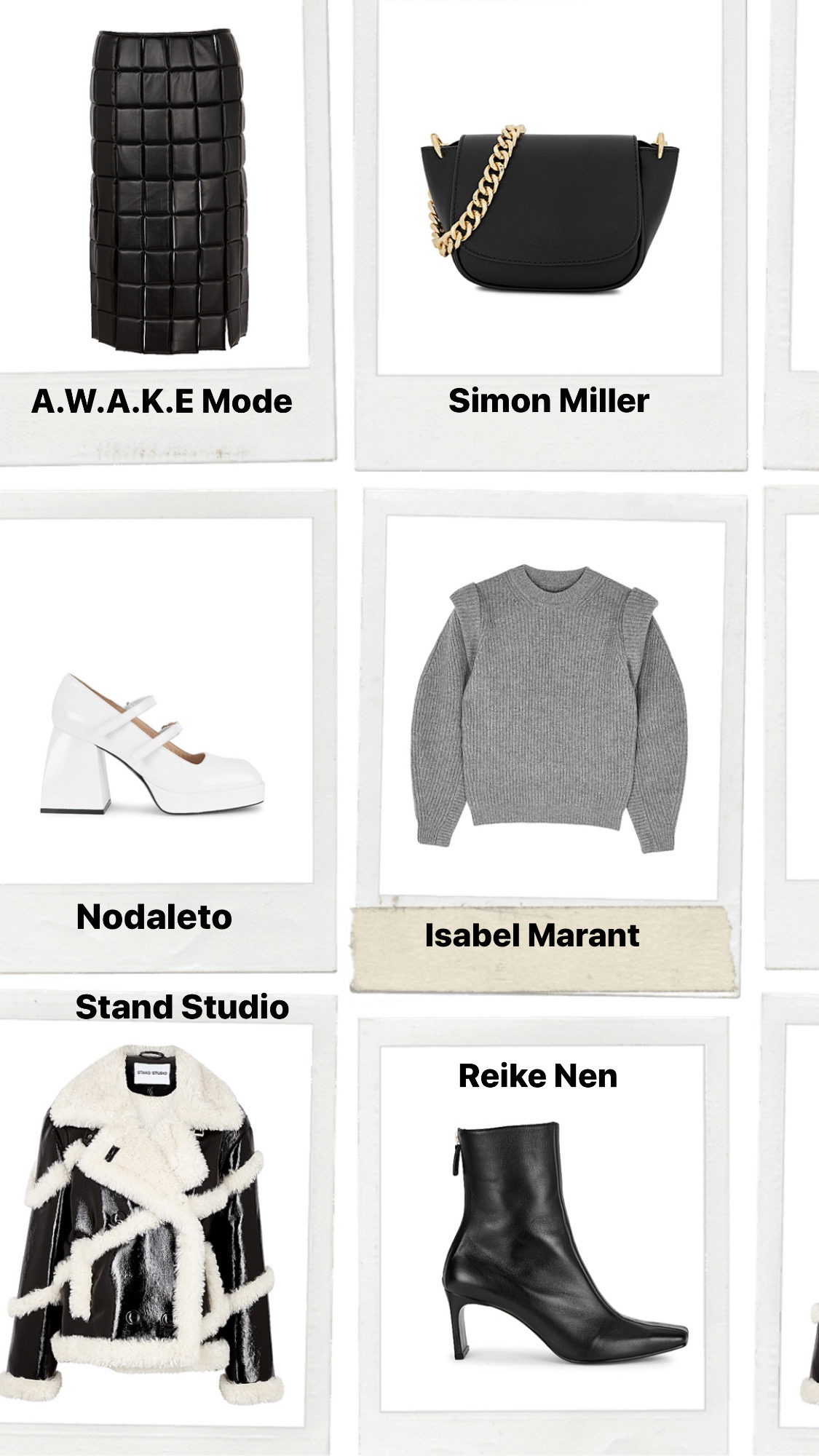 cyber week designers sale up to 40 percent off at Harvey Nichols: awake mode nanushka jaquemus paco rabanne aquazurra saint laurent balmain nodaleto isabel marant