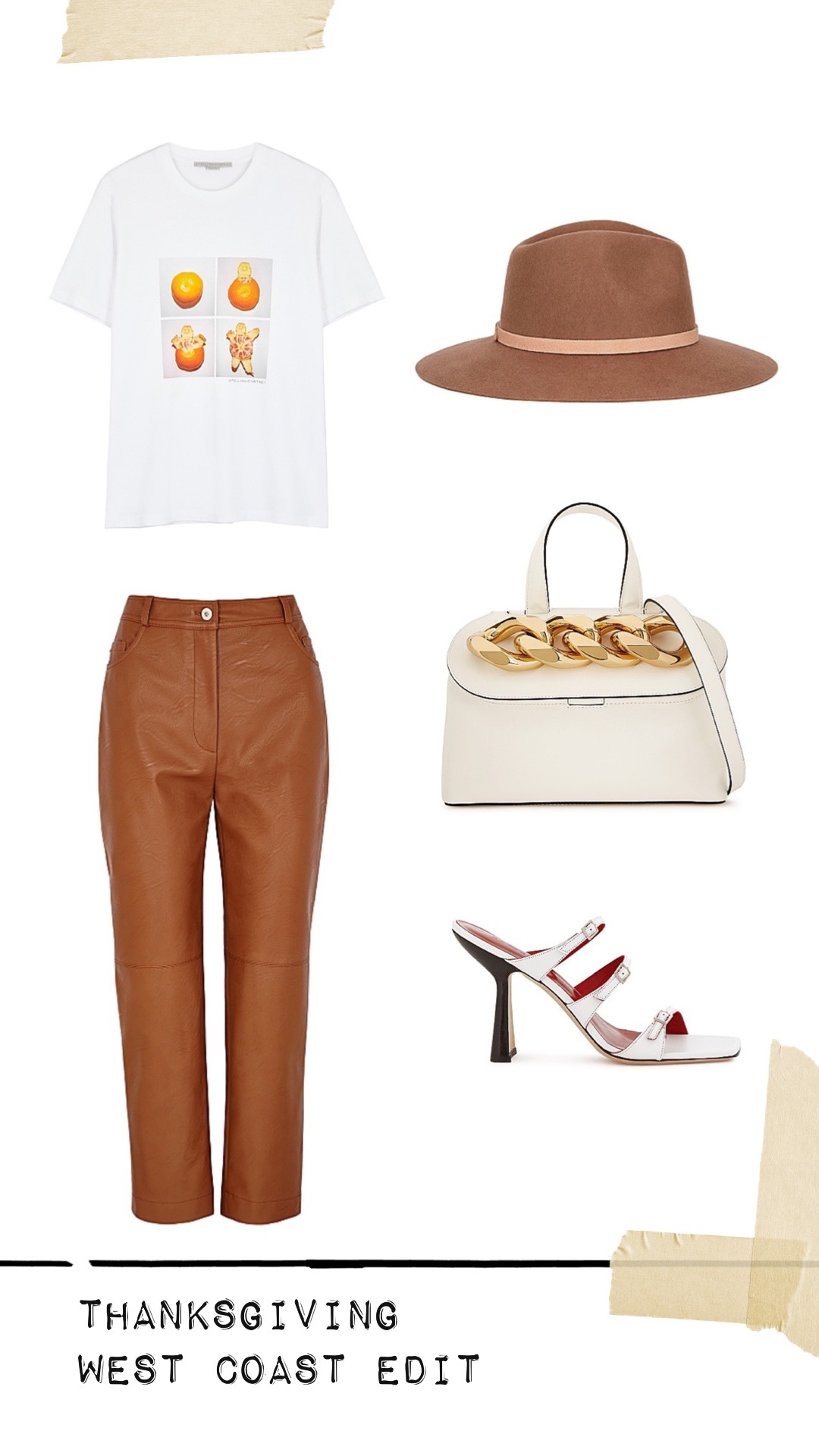 Harvey Nichols Thanksgiving outfit west coast edit