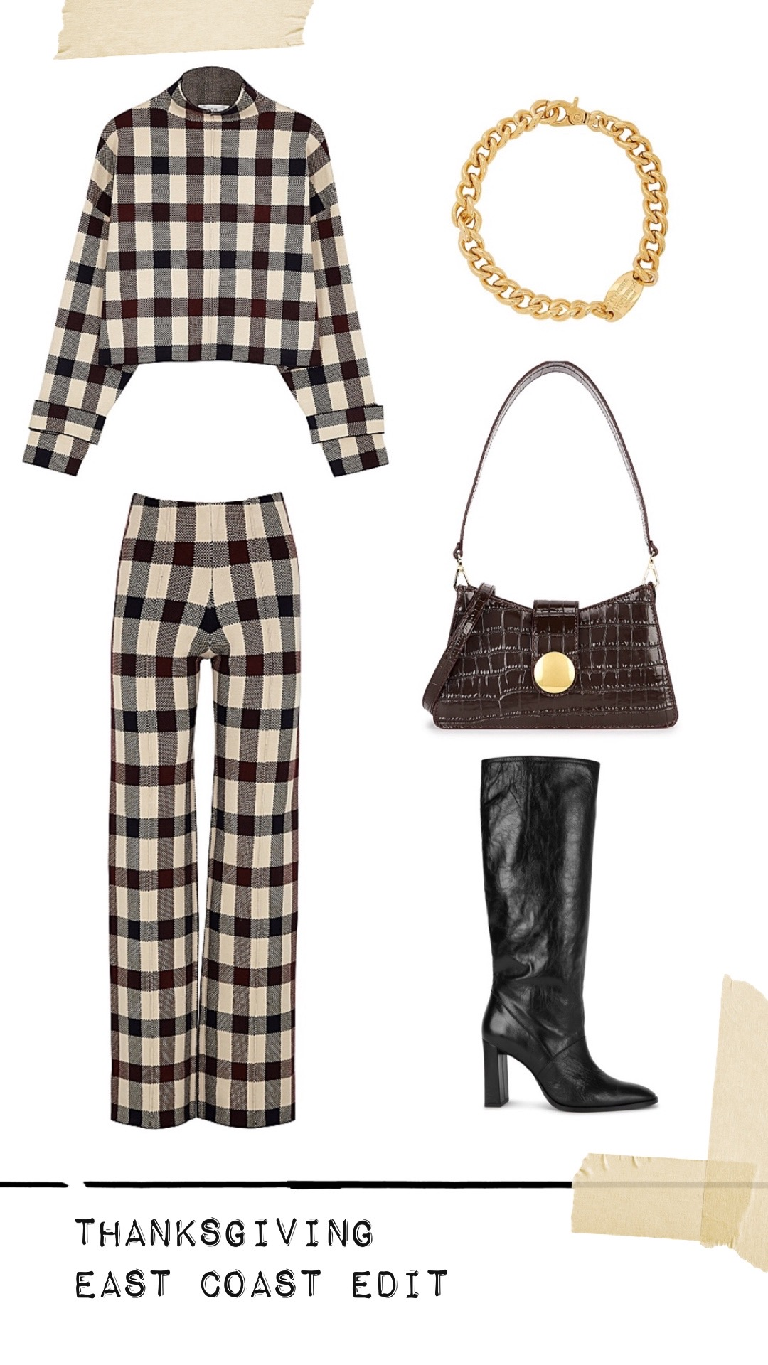 Harvey Nichols Thanksgiving outfit east coast edit