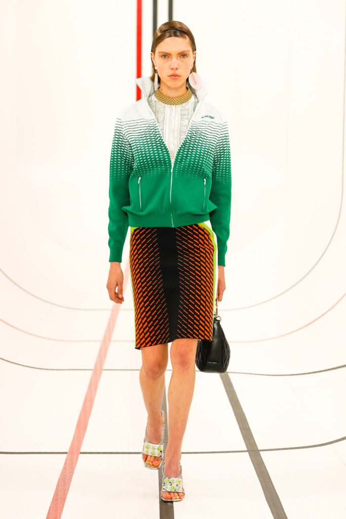 Spring Summer 2021 trends runway coverage Ready To Wear Vogue sport chic Miu Miu