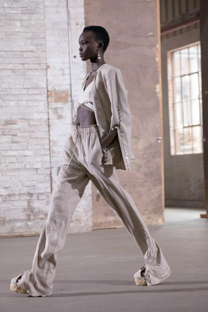 Spring Summer 2021 trends runway coverage Ready To Wear Vogue Lingerie wear Bra and suit Altuzarra bralette