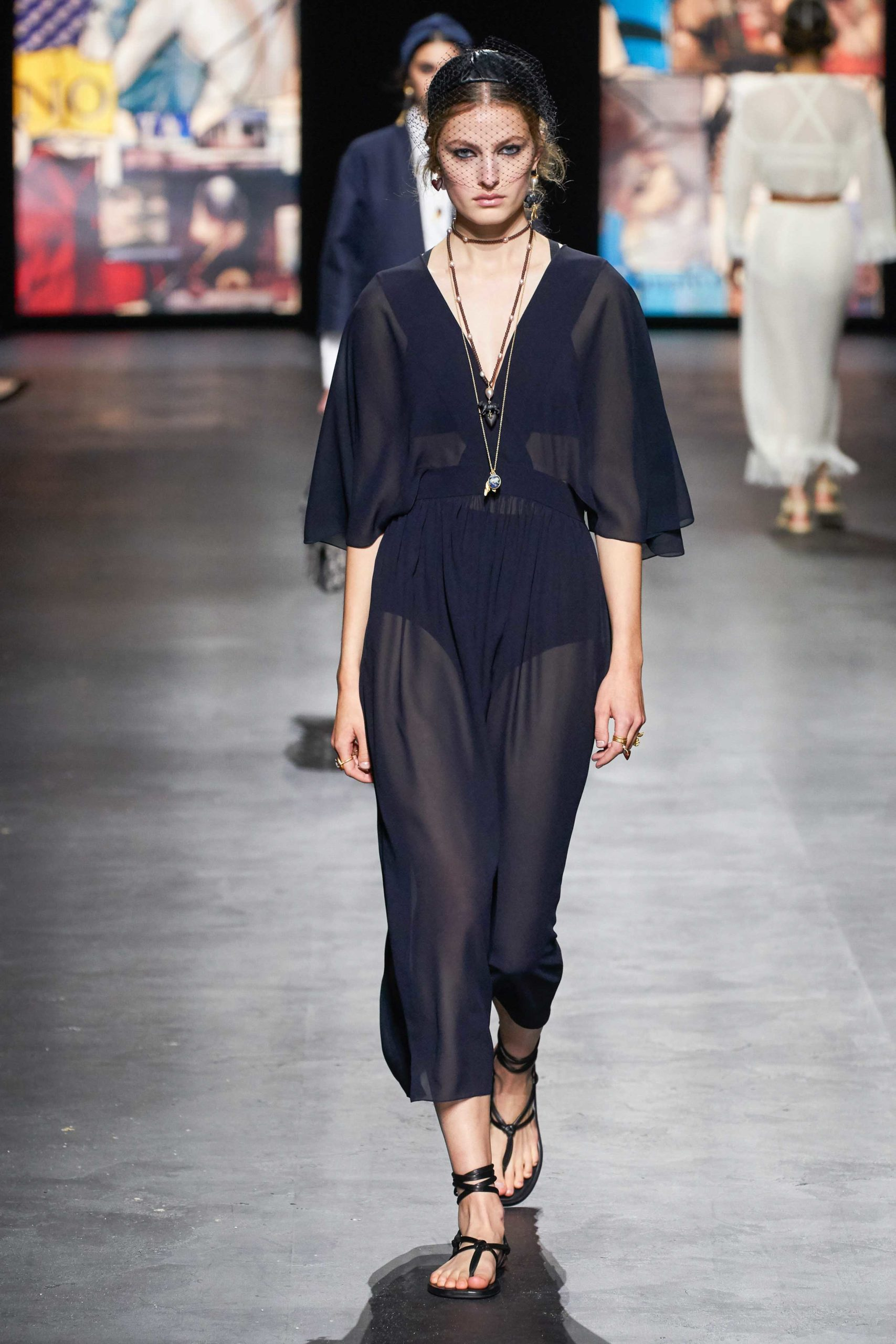 Spring Summer 2021 trends runway coverage Ready To Wear Vogue organza Dior