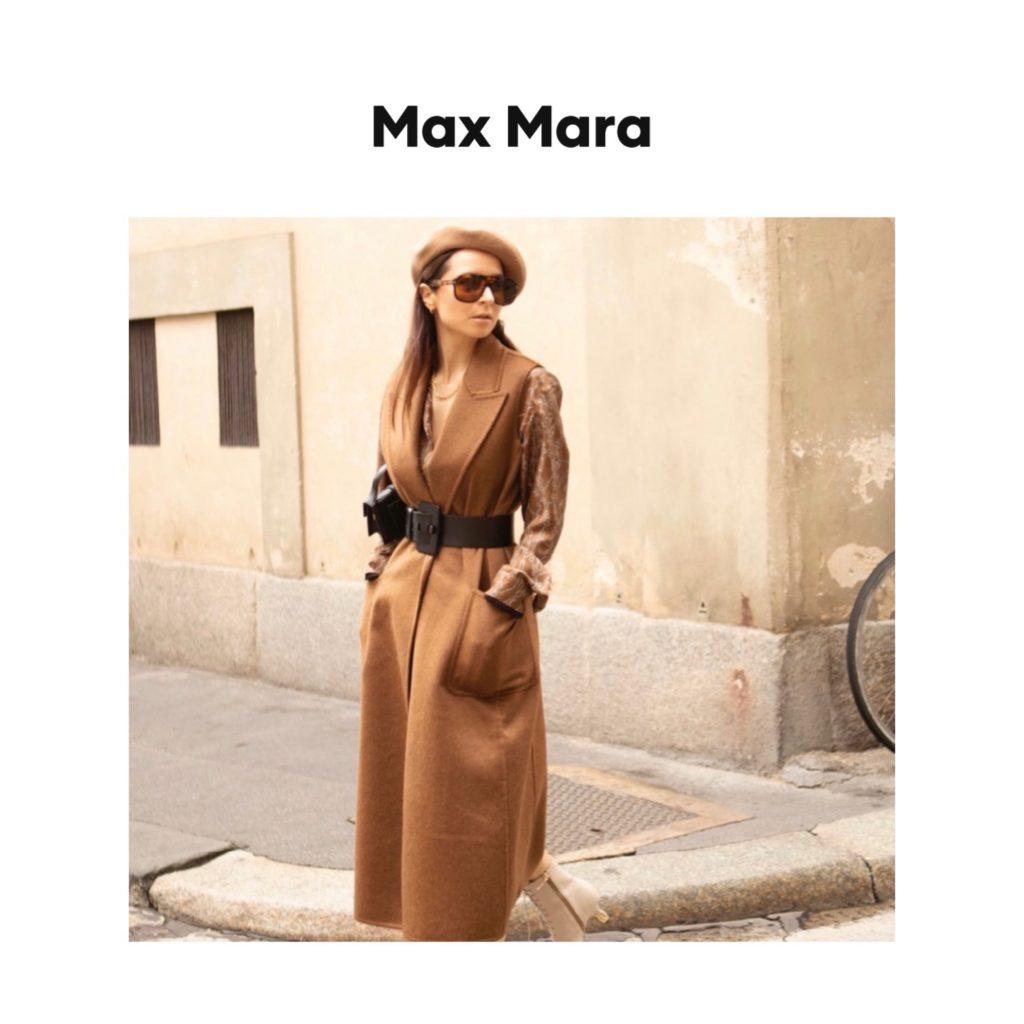 Max Mara digital campaign fashion editorial julia comil