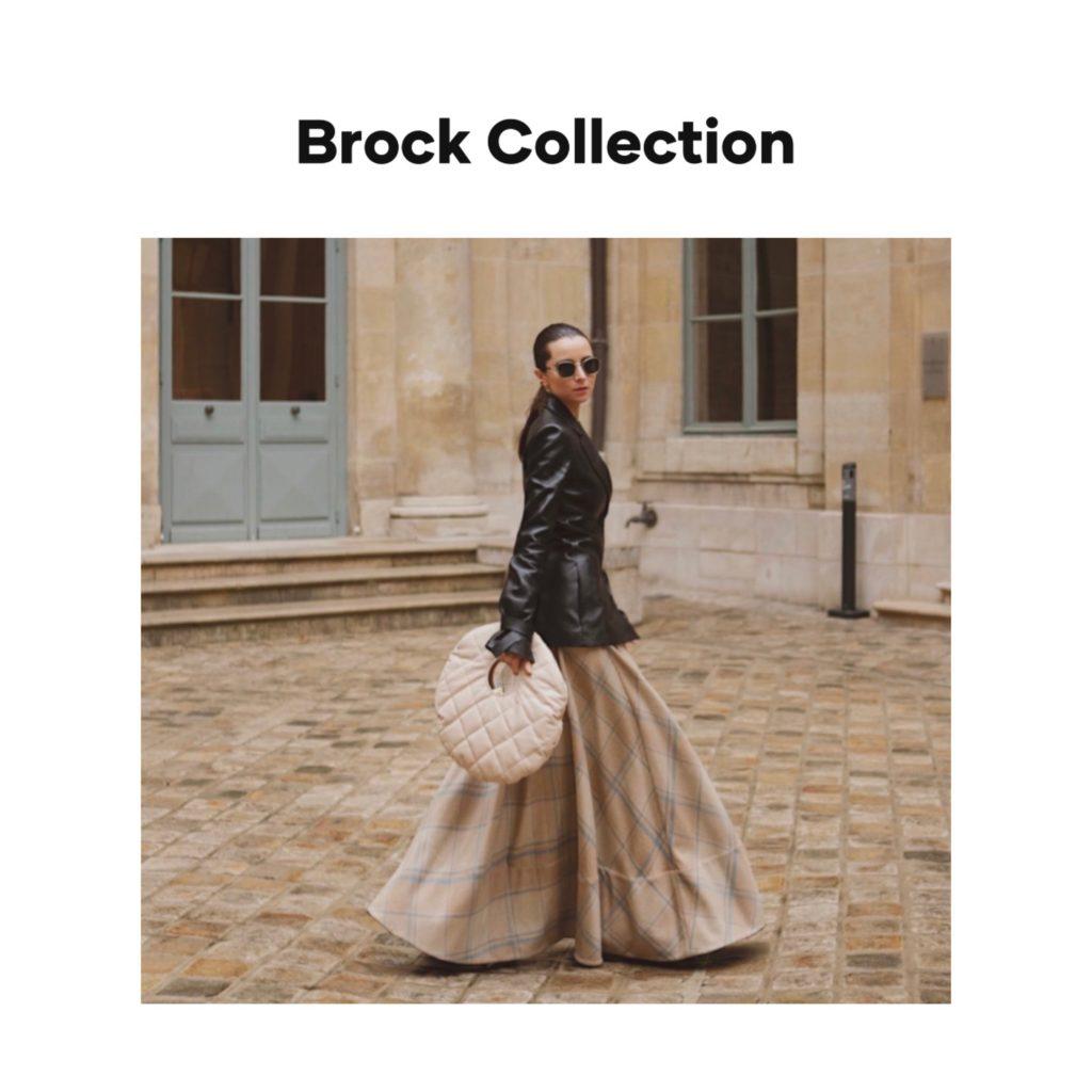 Brock collection digital campaign fashion editorial fashion week julia comil