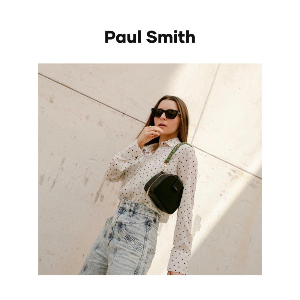 Paul Smith digital campaign fashion editorial julia comil