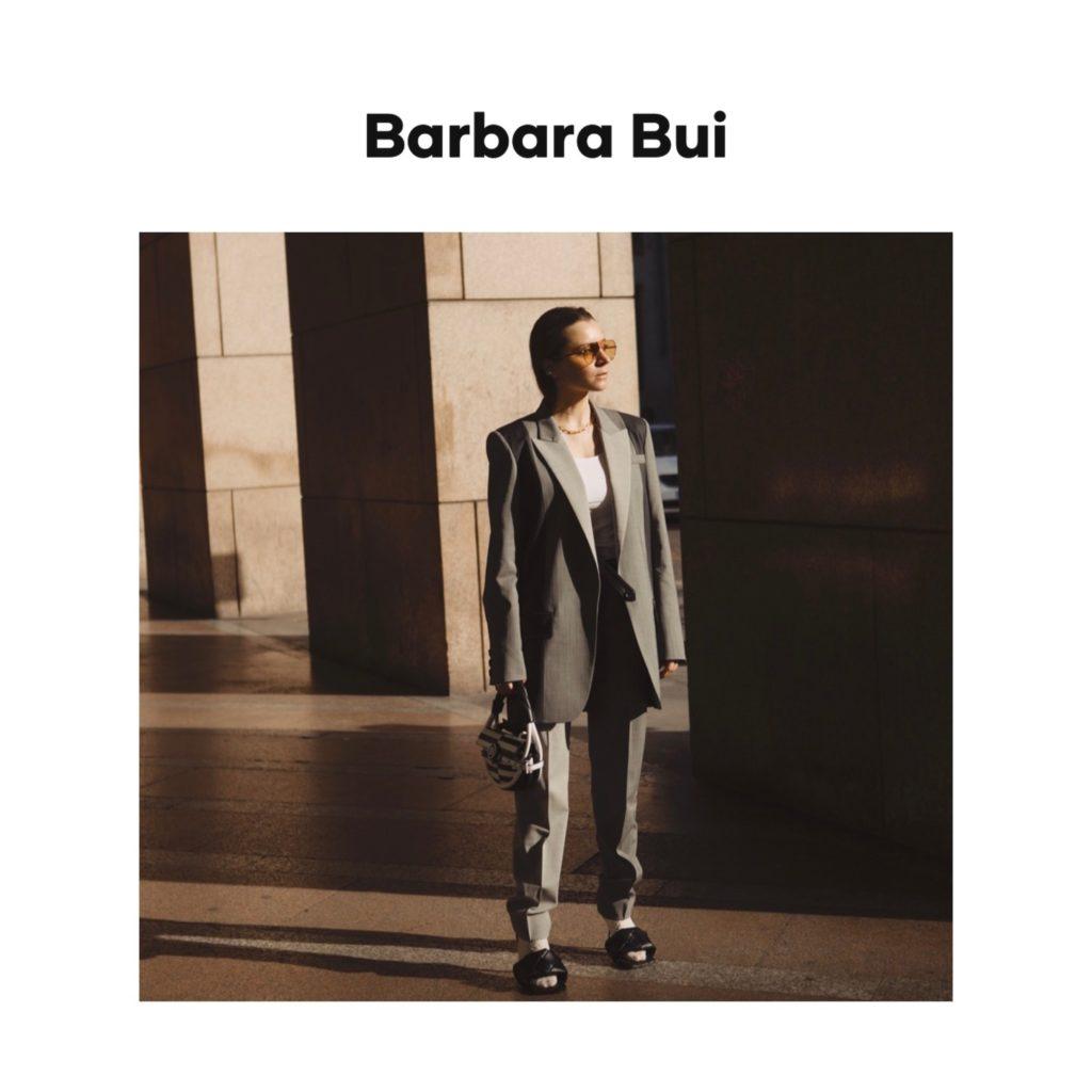 Barbara Bui digital campaign editorial julia comil