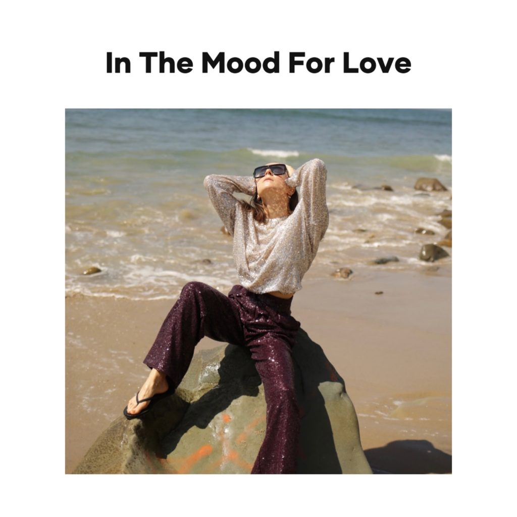 In The Mood For Love digital campaign editorial julia comil