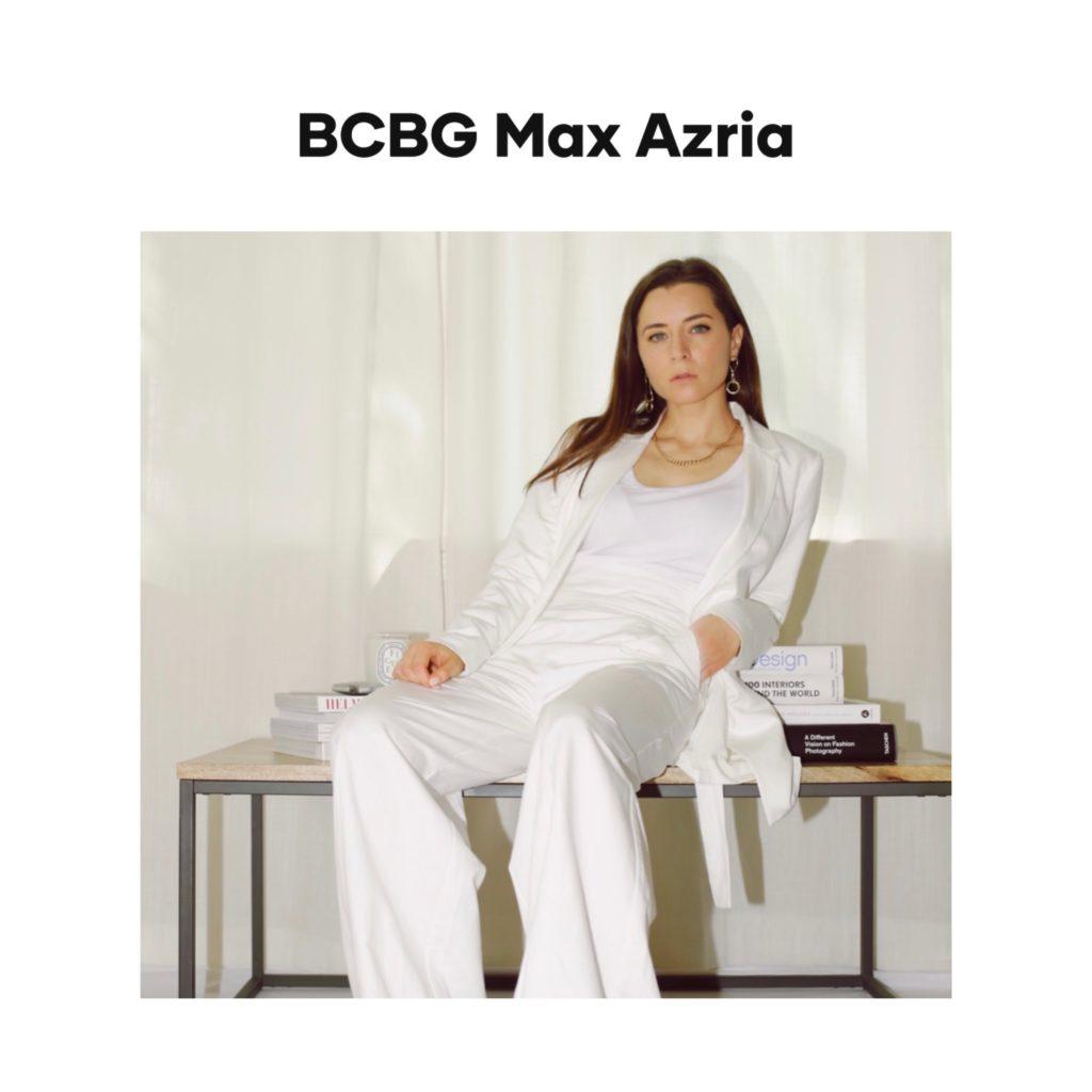 bcbg max azria digital campaign editorial julia comil