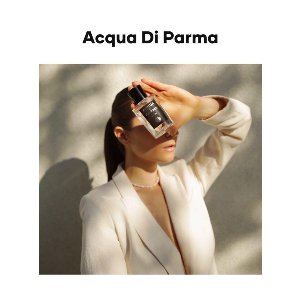 Acqua Di Parma digital campaign editorial julia comil