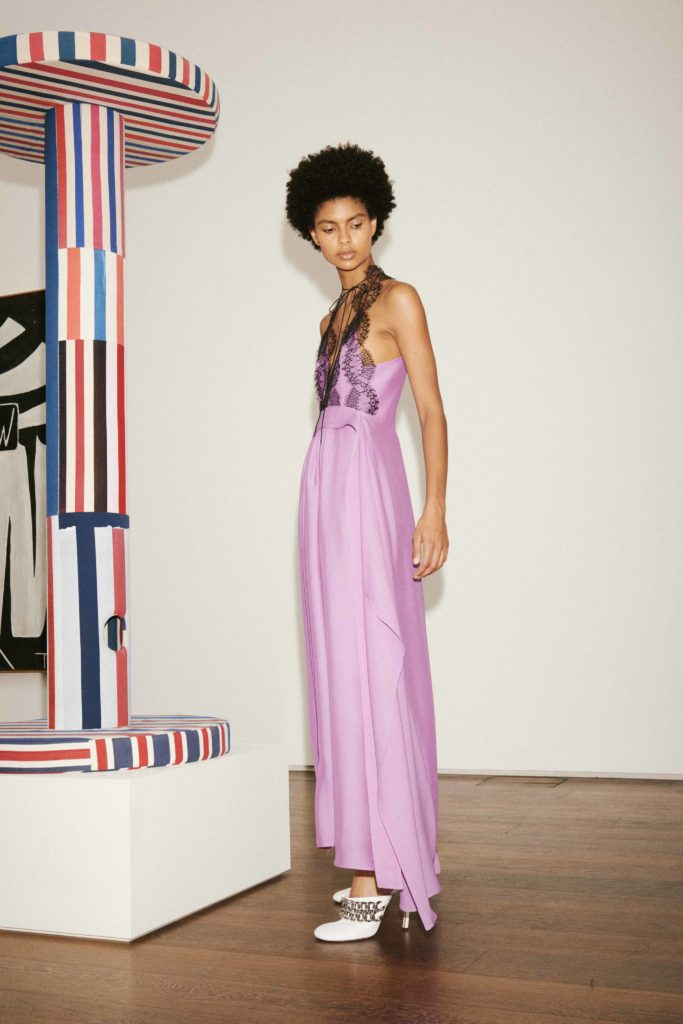 Spring Summer 2021 trends runway coverage Ready To Wear Vogue Lingerie wear Slipdress VICTORIA BECKHAM