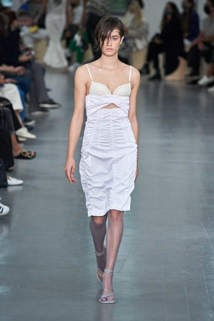 Spring Summer 2021 trends runway coverage Ready To Wear Vogue Lingerie wear Slipdress Sportmax