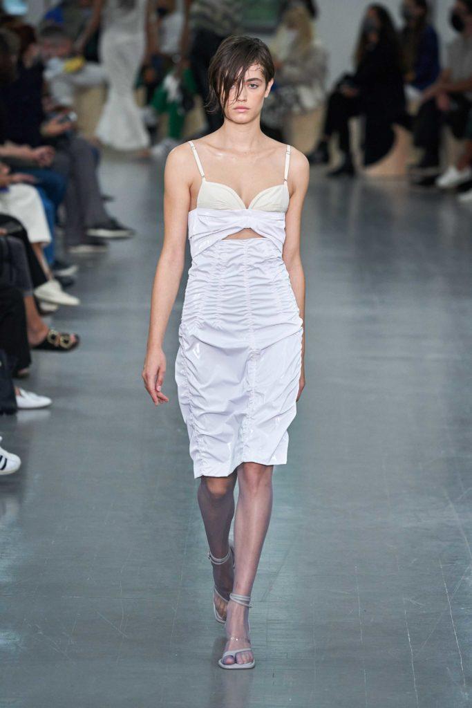Spring Summer 2021 trends runway coverage Ready To Wear Vogue Lingerie wear Slipdress Sportmax
