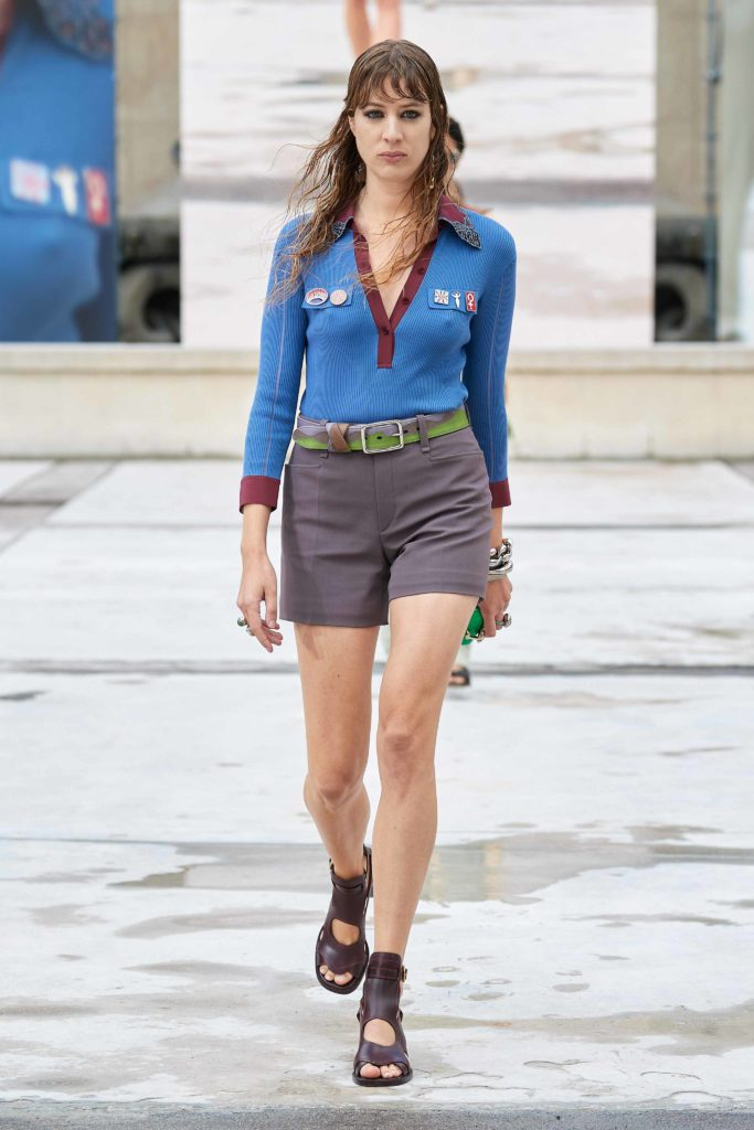 Spring Summer 2021 trends runway coverage Ready To Wear Vogue polo shirts Chloe