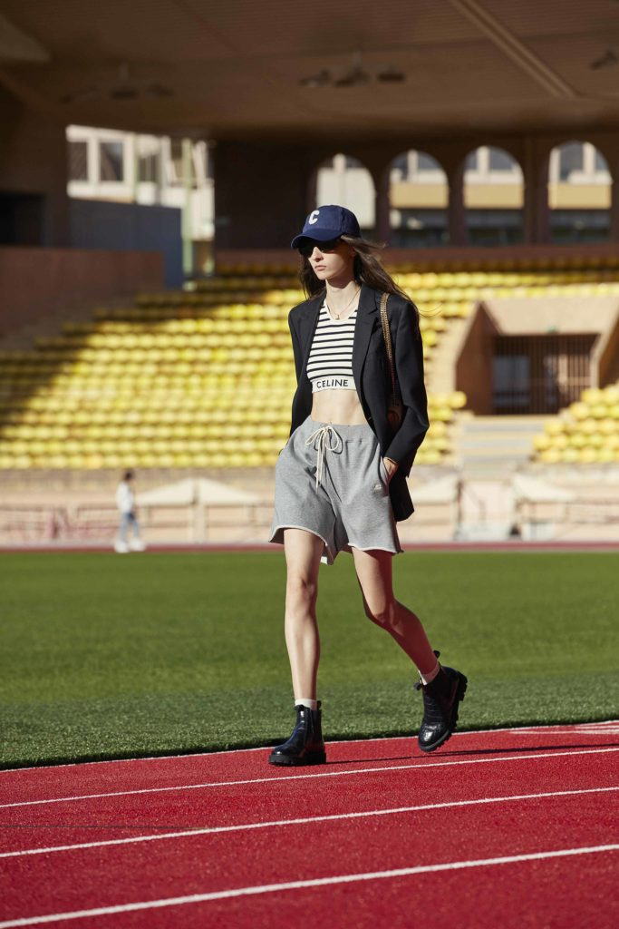 Spring Summer 2021 trends runway coverage Ready To Wear Vogue sporty chic Celine