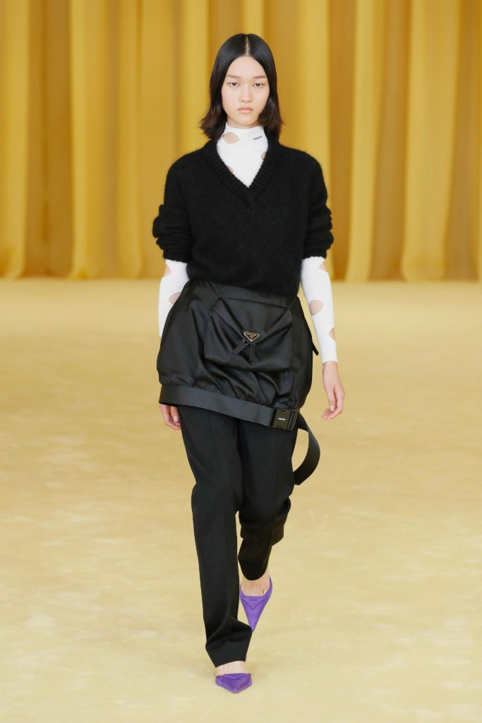 Spring Summer 2021 trends runway coverage Ready To Wear Vogue sporty chic Prada