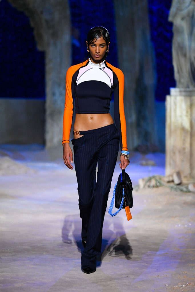 Spring Summer 2021 trends runway coverage Ready To Wear Vogue sporty chic Versace