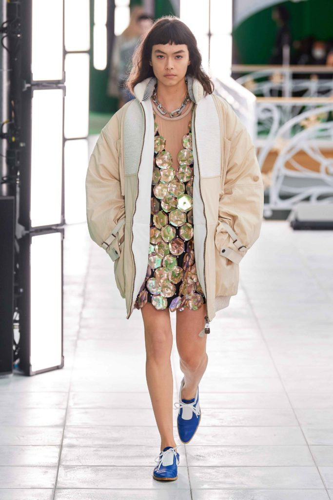 Spring Summer 2021 trends runway coverage Ready To Wear Vogue sporty chic coat Louis Vuitton