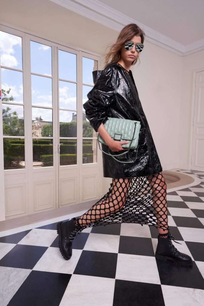 Spring Summer 2021 trends runway coverage Ready To Wear Vogue Fishnet Longchamp