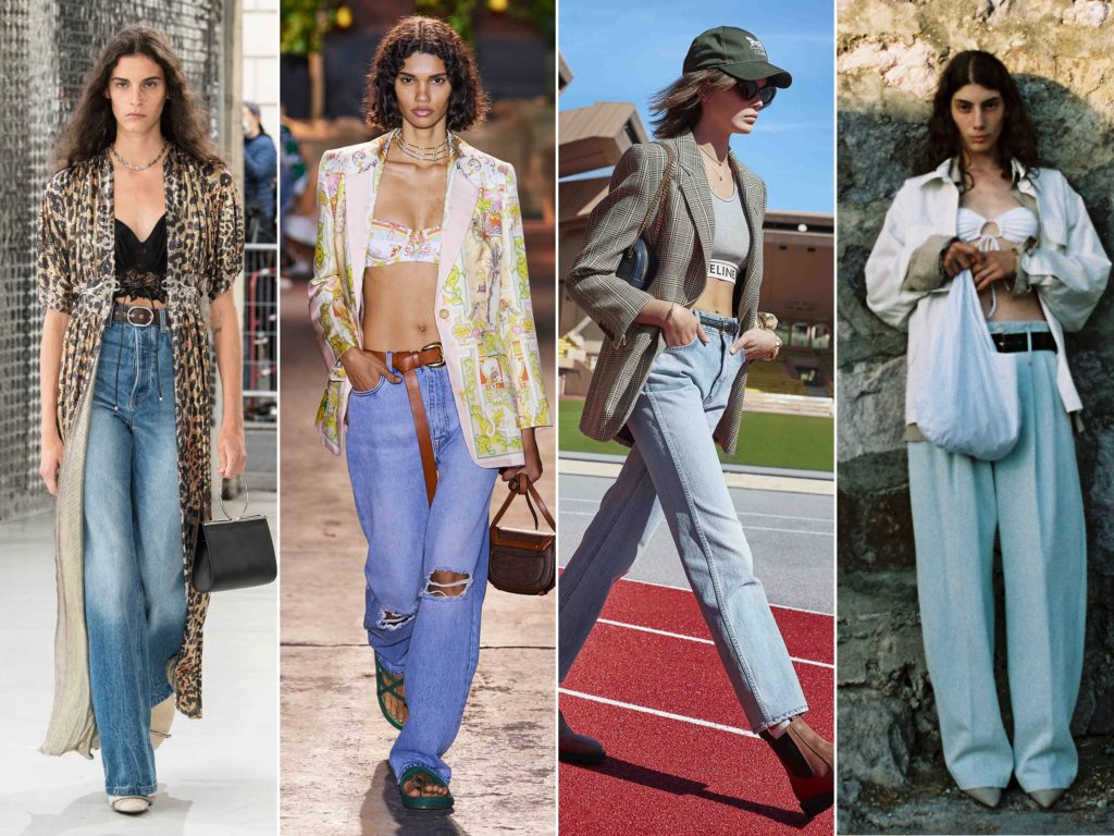 Spring Summer 2021 trends runway coverage Ready To Wear Vogue Lingerie wear Slipdress Alberta Ferretti, Victoria Beckham, Sportmax