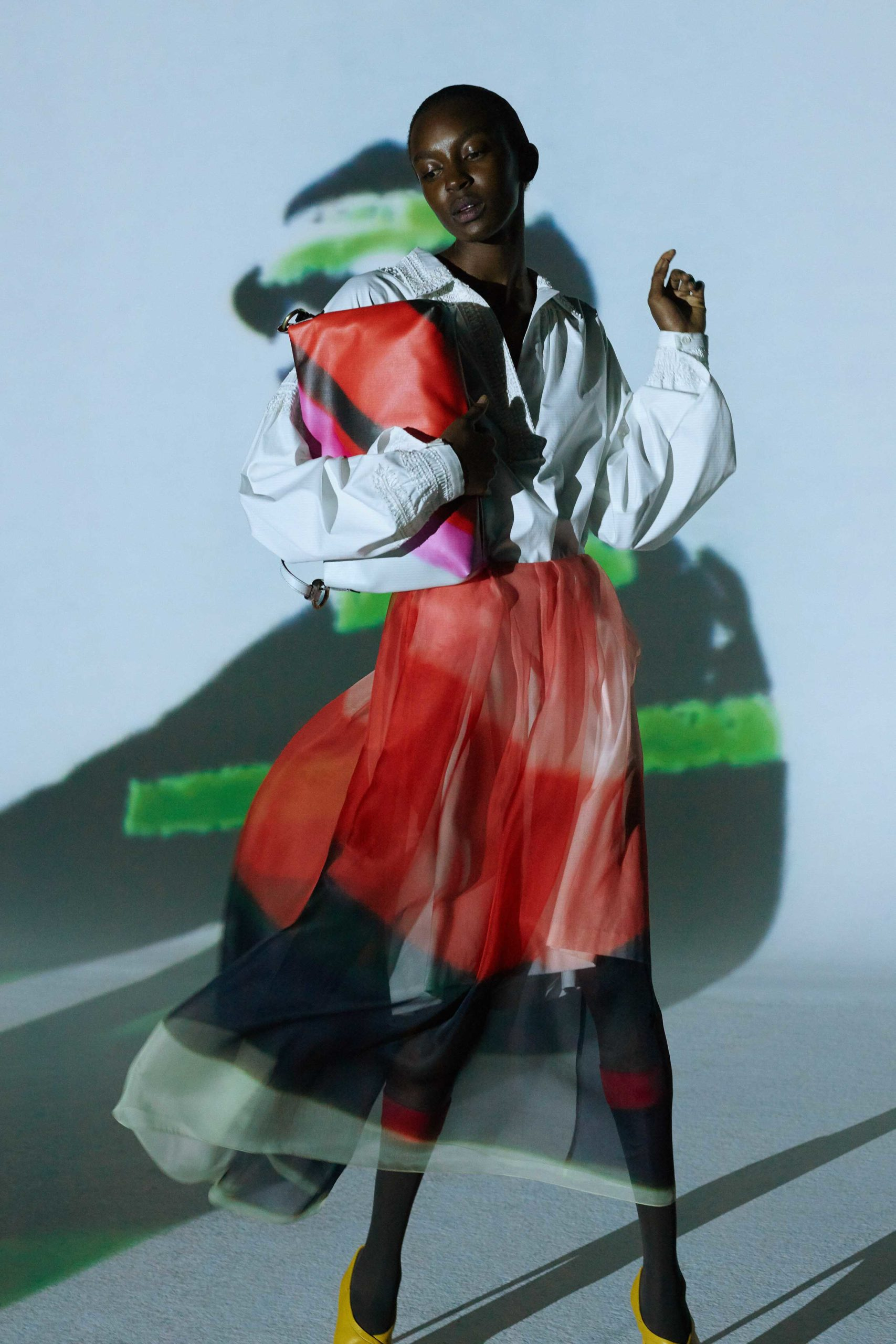 Spring Summer 2021 trends runway coverage Ready To Wear Vogue transparency play with organza Viviane Sassen