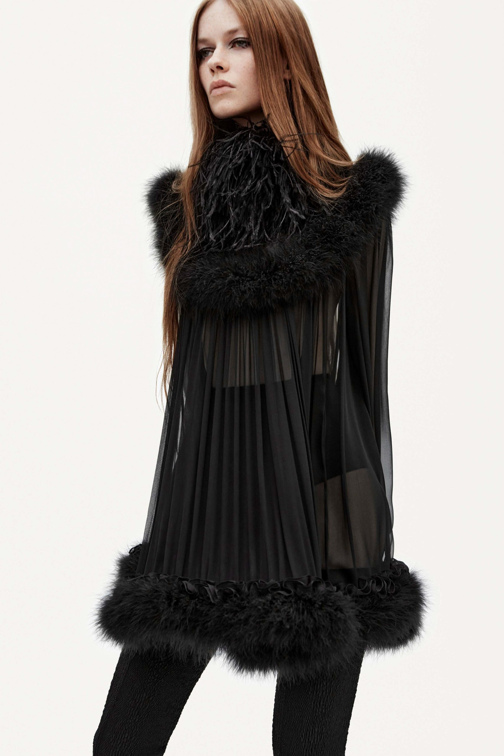 Spring Summer 2021 trends runway coverage Ready To Wear Vogue play with organza Saint Laurent