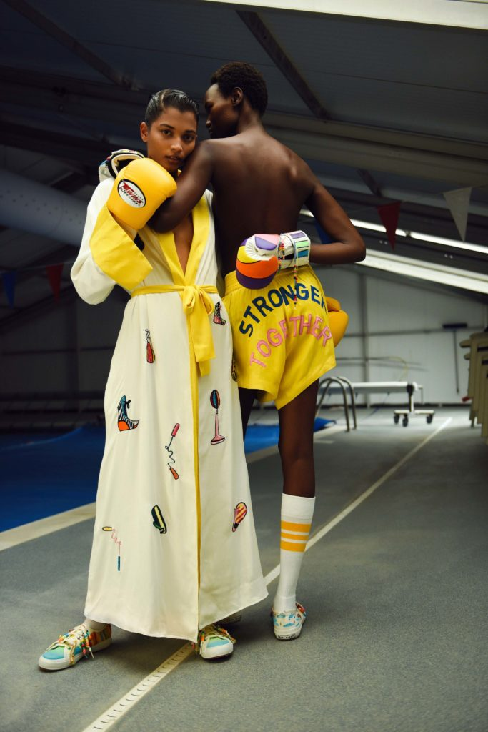 Spring 2021 trends runway coverage Ready To Wear Vogue elevated pajama party Mira Mikati