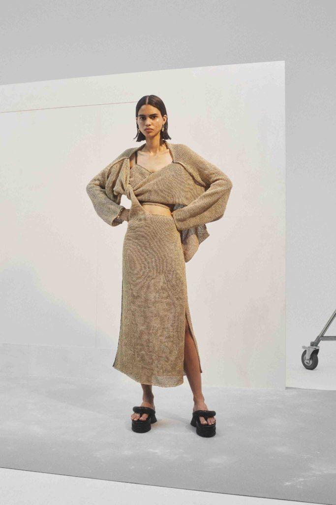 Spring Summer 2021 trends runway coverage Ready To Wear Vogue Modern Knit Ambush