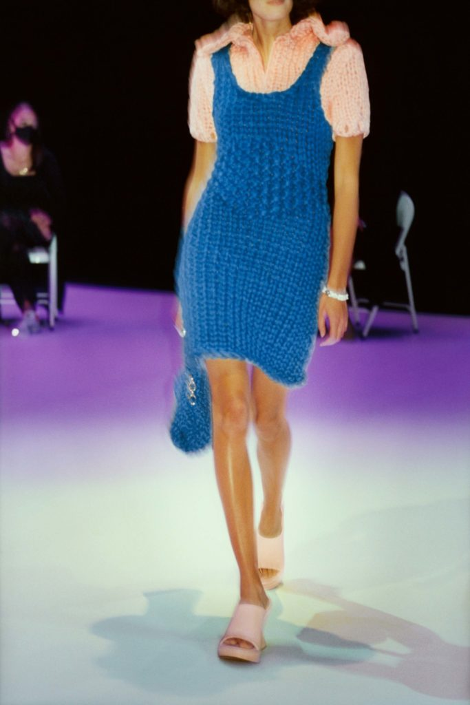 Spring Summer 2021 trends runway coverage Ready To Wear Vogue Modern Knit Bottega Veneta