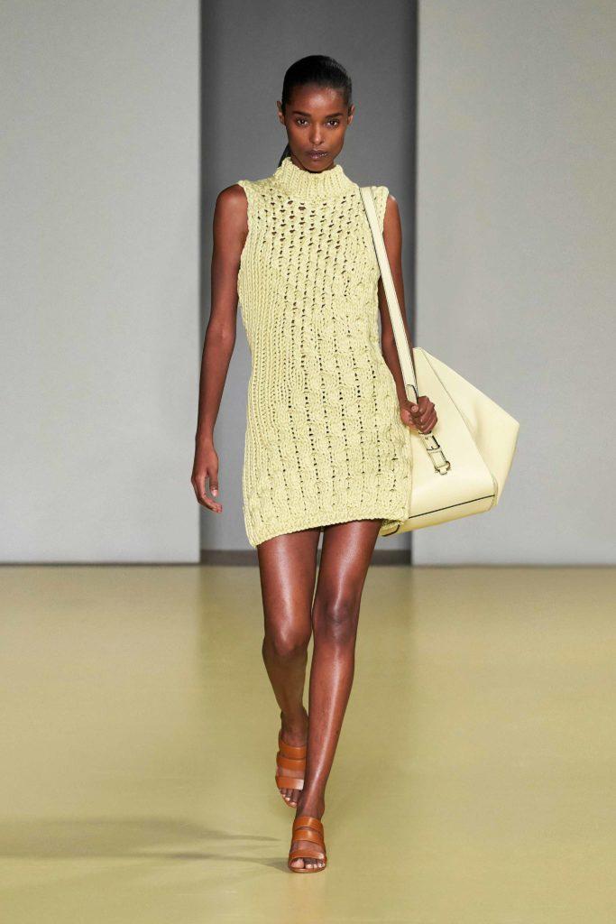 Spring Summer 2021 trends runway coverage Ready To Wear Vogue Modern Knit Salvatore Ferragamo