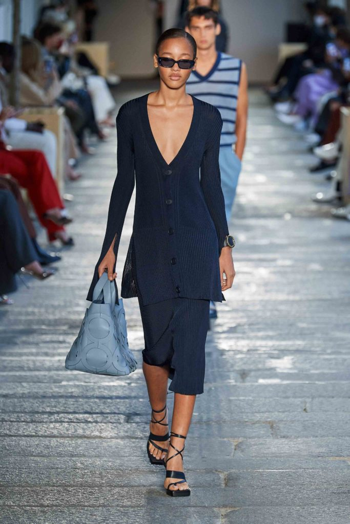 Spring Summer 2021 trends runway coverage Ready To Wear Vogue Modern Knit Boss
