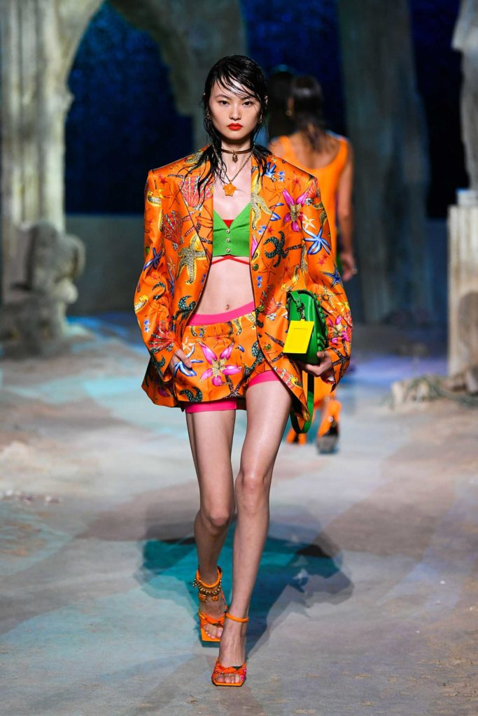 Spring Summer 2021 trends runway coverage Ready To Wear Vogue Pants are an option Versace