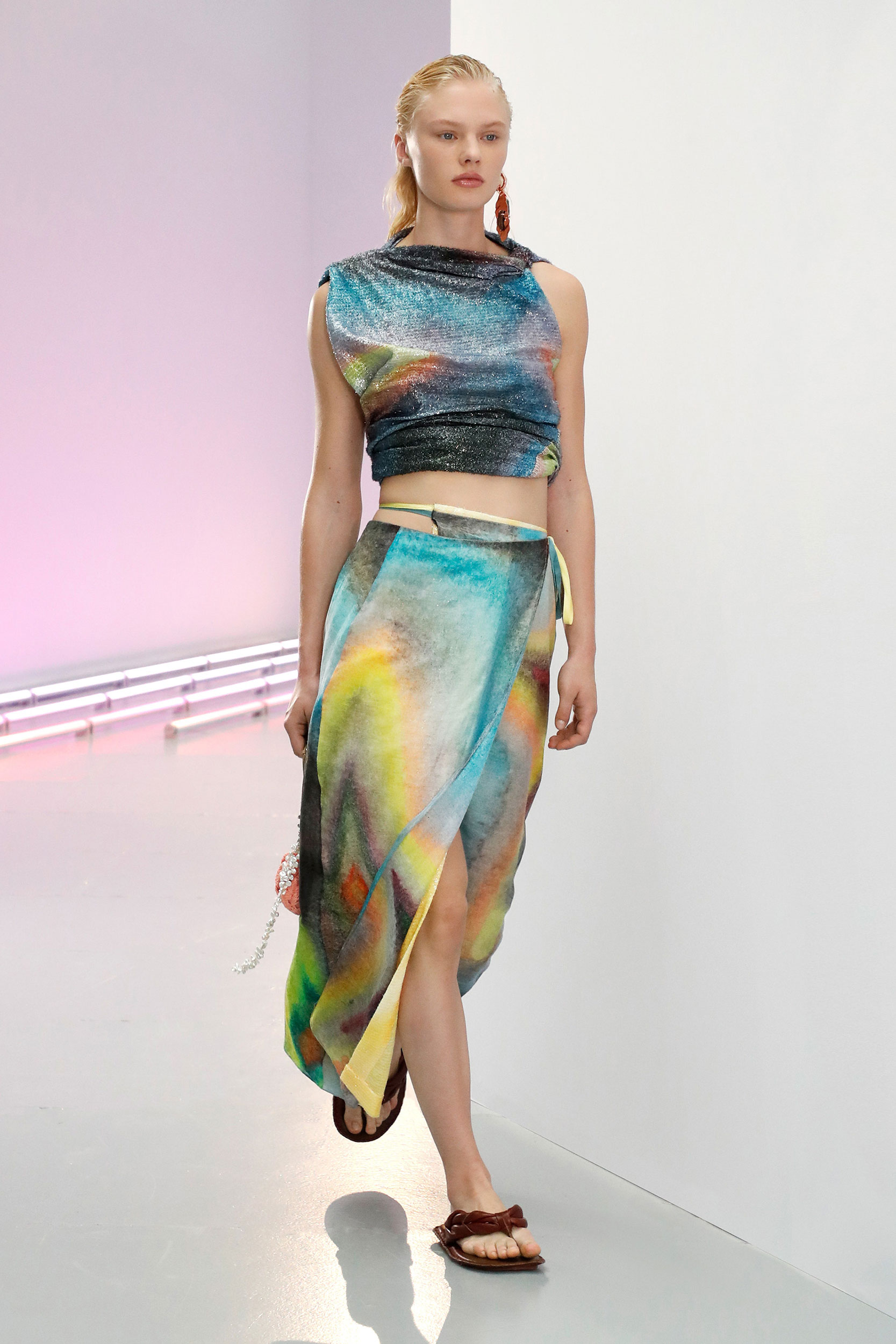 Spring Summer 2021 trends runway coverage Ready To Wear Vogue Luxe Tie Dye Acne