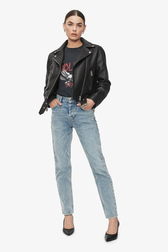Edgy style leather chic: Best 10 anine bing pieces to wear all year round. Anine Bing Benjamin Jacket