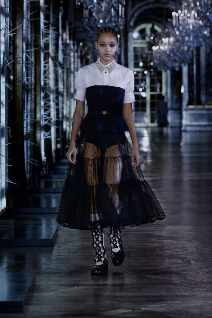 Christian Dior Fall 2021 runway trends bustier