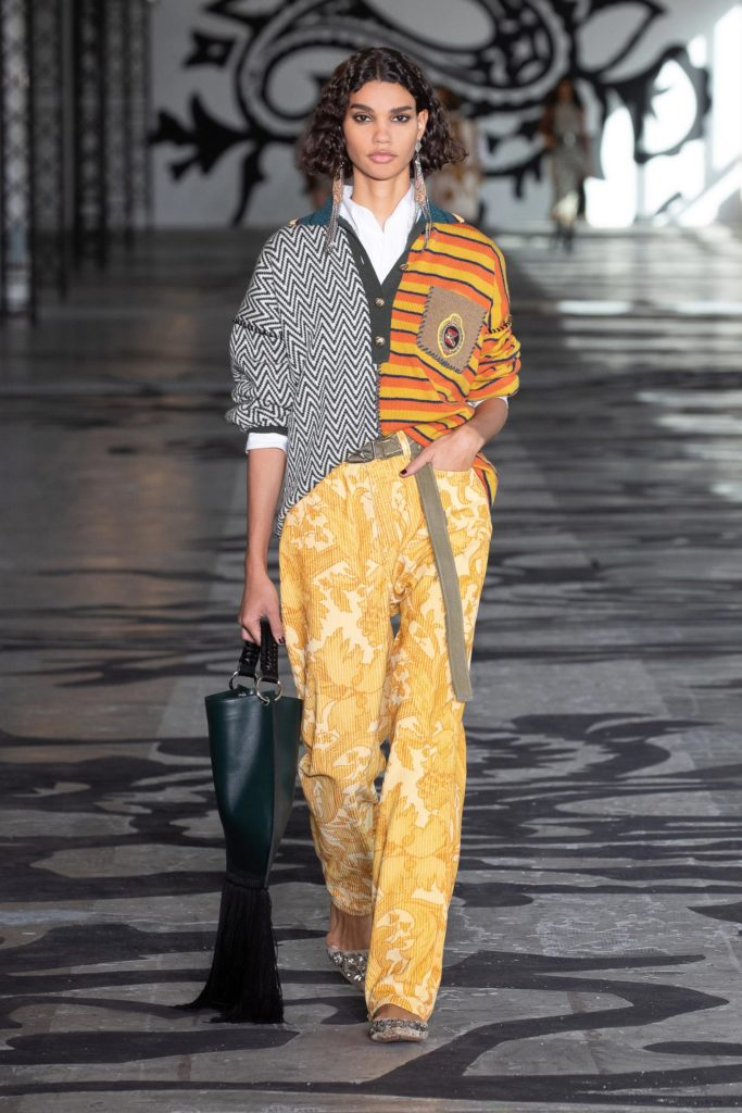 Etro Fall Winter 2021 runway trends fashion trends for fall 2021 back to school '50s fashion