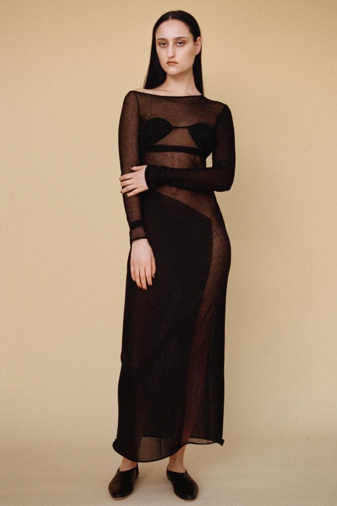 Dress trends Fall Winter 2021 Fashion East Nensi Dojaka mesh dress