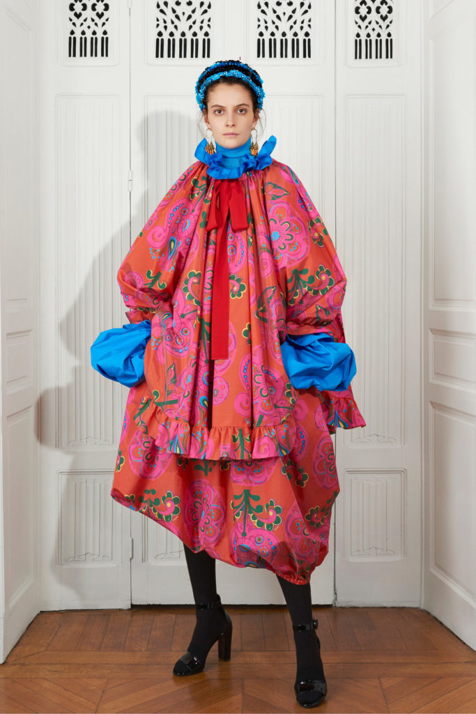 Patou best FW21 trends from the runway wallpaper floral '70s fashion