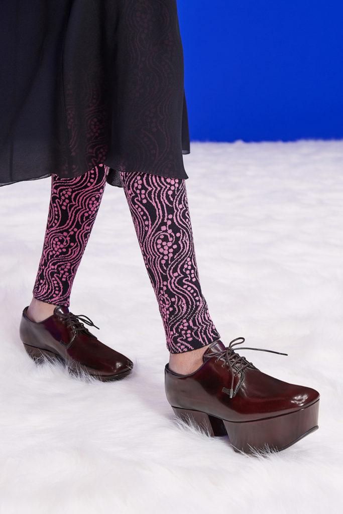 Prada platform loarfers best details from the runway Fall Winter 2021 fashion week